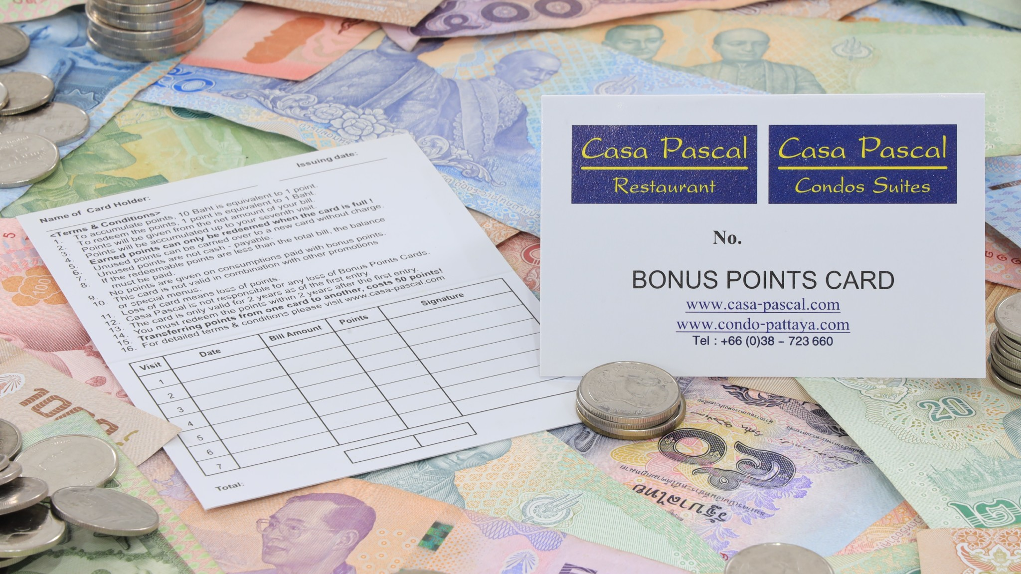 Bonus point card