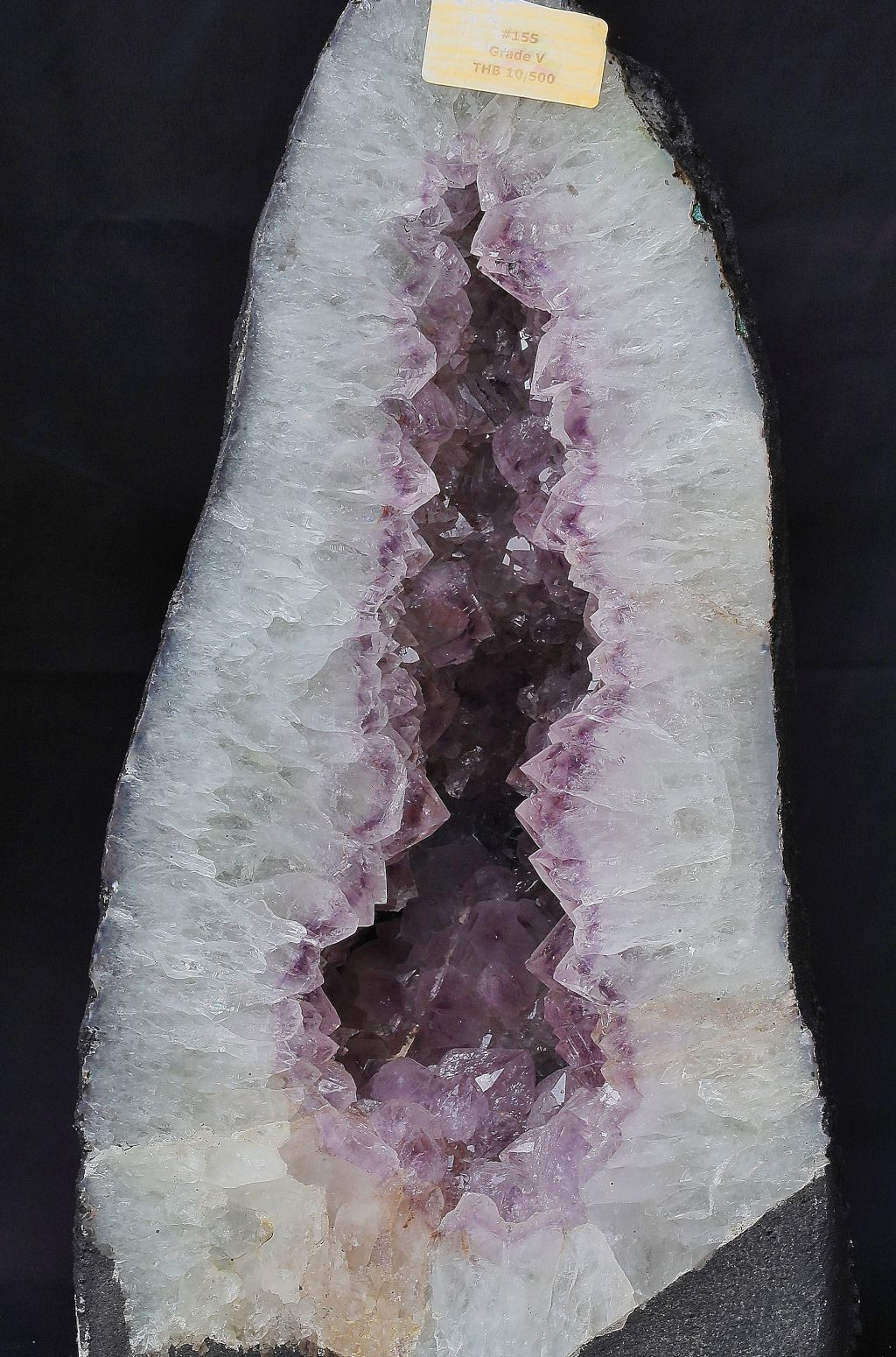 Amethyst White Purple